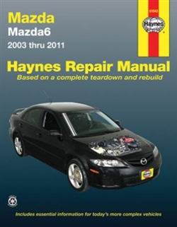 Haynes 61043 Mazda6 Repair Manual for 2003 thru 2011