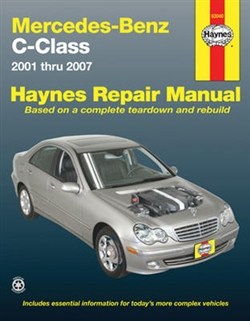 Haynes 63040 Mercedes-Benz C-Class Repair Manual for 2001 through 2007