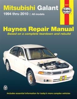 Haynes 68035 Mitsubishi Galant Repair Manual for 1994 thru 2010