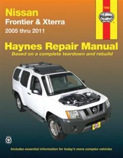 Haynes 72032 Nissan Frontier and Xterra Repair Manual for 2005 thru 2011