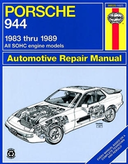Haynes 80035 Porsche 944 Repair Manual for 1983 thru 1989 Covering 4-Cylinder Engine