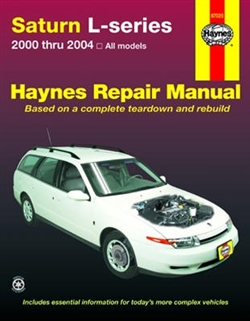 Haynes 87020 Saturn L-Series Repair Manual from 2000 thru 2004