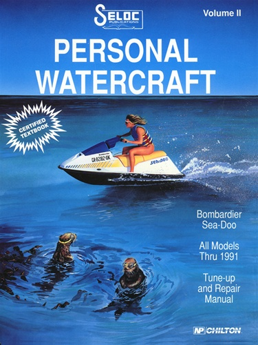 Sea-Doo/Bombardier Jet Ski Repair Manual 1988 - 1991