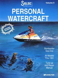 Sea-Doo/Bombardier Jet Ski Repair Manual 1988-1991