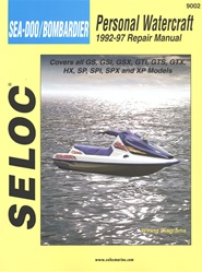 Sea-Doo/Bombardier Jet Ski Repair Manual 1992-1997