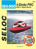 Sea-Doo Jet Ski Repair Manual 2002 to 2011