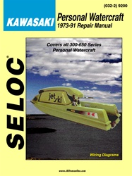 Kawasaki Jet Ski Repair Manual 1973-1991