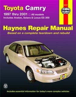 Haynes 92007 Toyota Camry Repair Manual for 1997 thru 2001
