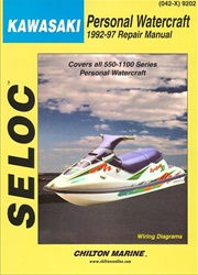 Kawasaki Jet Ski Repair Manual 1992-1997