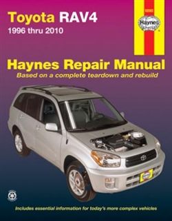 Haynes 92082 Toyota RAV4 Repair Manual for 1996 thru 2010