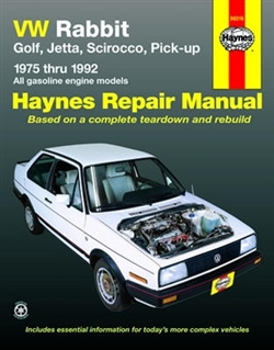 Haynes 96016 Volkswagen Repair Manual for 1975 thru 1992
