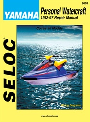 Yamaha Jet Ski Repair Manual 1992-1997