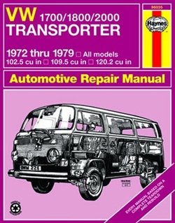 Haynes 96035 Volkswagen 1700-1800-2000 Transporter Repair Manual for 1972 thru 1979 Models
