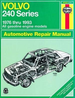 haynes repair manual for volvo 240 series 1976 thru 1993 rh themanualstore com Volvo Problems Volvo Service