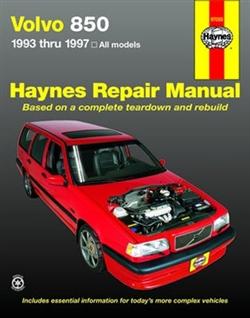 Haynes 97050 Volvo 850 Repair Manual for 1993 thru 1997
