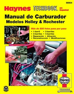Haynes 98904 Holley Carburetor Manual Techbook Rochester Models