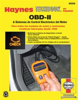 Haynes 98906 Techbook for OBD-II Systems and Electronic Engine Control for All Models of Cars and Trucks Manufactured Since 1996 Medium