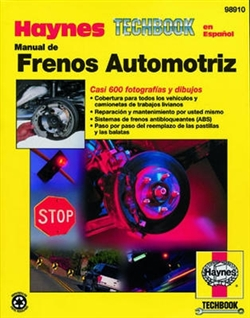 Haynes 98910 Manual for Automotive Brake Techbook