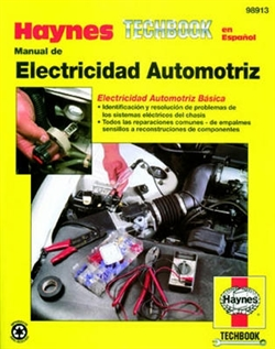 Haynes 98913 Manual for Techbook Automotive Electrical