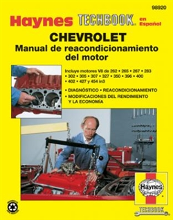 Haynes 98920 Chevy Engine Overhaul Manual Techbook