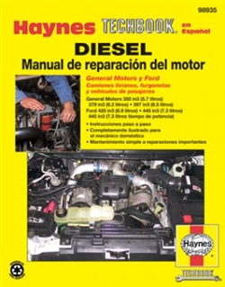 Haynes 98935 Diesel Engine Repair Manual Techbook