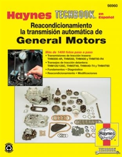 Haynes 98960 Automatic Transmission Overhaul General Motors Techbook