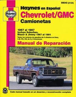 Haynes 99040 Chevy - GMC Vans Repair Manual for 1967 To 1987