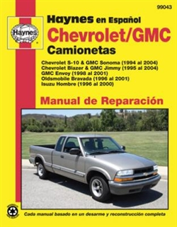 Haynes 99043 Chevy and GMC Truck Repair Manual for 1994 To 2004