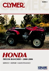 Honda Rancher TRX-350 Service and Repair Manual