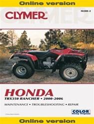 Honda Rancher Online Repair Manual