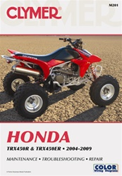 Clymer Honda Forman TRX450R and TRX450ER Repair Manual