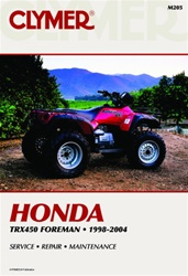 Clymer Honda Foreman - TRX 450 Repair Manual