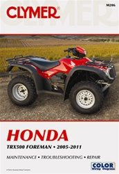 Clymer Honda Forman TRX500 Repair Manual