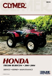 Clymer Honda Rubicon TRX 5000 Repair Manual