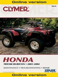 Clymer Honda Rubicon TRX 5000 Online Repair Manual