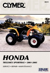 Clymer Honda 250EX Sportrax Repair Manual