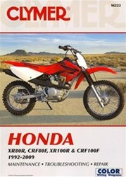 Honda XR80R, CRF80F, XR100R & CRF100F Manual