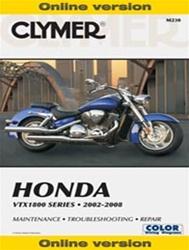Honda VTX1800 Manual