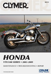 Honda VTX1300 Service and Repair Manual