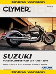 Suzuki Volusia - Boulevard C50 Manual 2001-2008 ONLINE VERSION