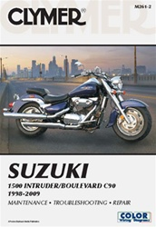 Suzuki Boulevard C90 - 1500 Intruder Manual