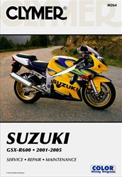 Suzuki GSXR 600 Service and Repair Manual