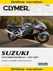 Suzuki GSX1300R Hayabusa Manual