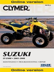 Clymer Suzuki z400 Repair Manual