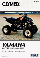 Clymer Yamaha Raptor 660 Repair Manual