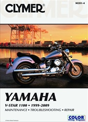 Yamaha V-Star Manual (1100 Series)