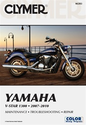 Yamaha V-Star Manual (1300 Series)