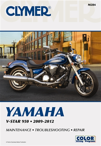 Yamaha V-Star 950 Service Manual 2009-2012