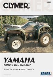Clymer Yamaha Grizzly 660 Repair Manual