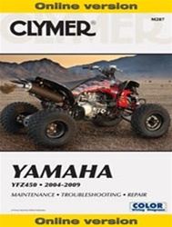 Clymer Yamaha YFZ450 Repair Manual